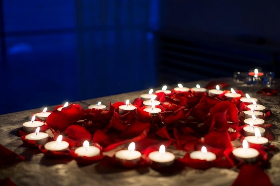 Как сделать романтический ужен